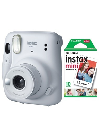Fujifilm instax mini 11 Beyaz Fotoğraf Makinesi 10lu Film Beyaz